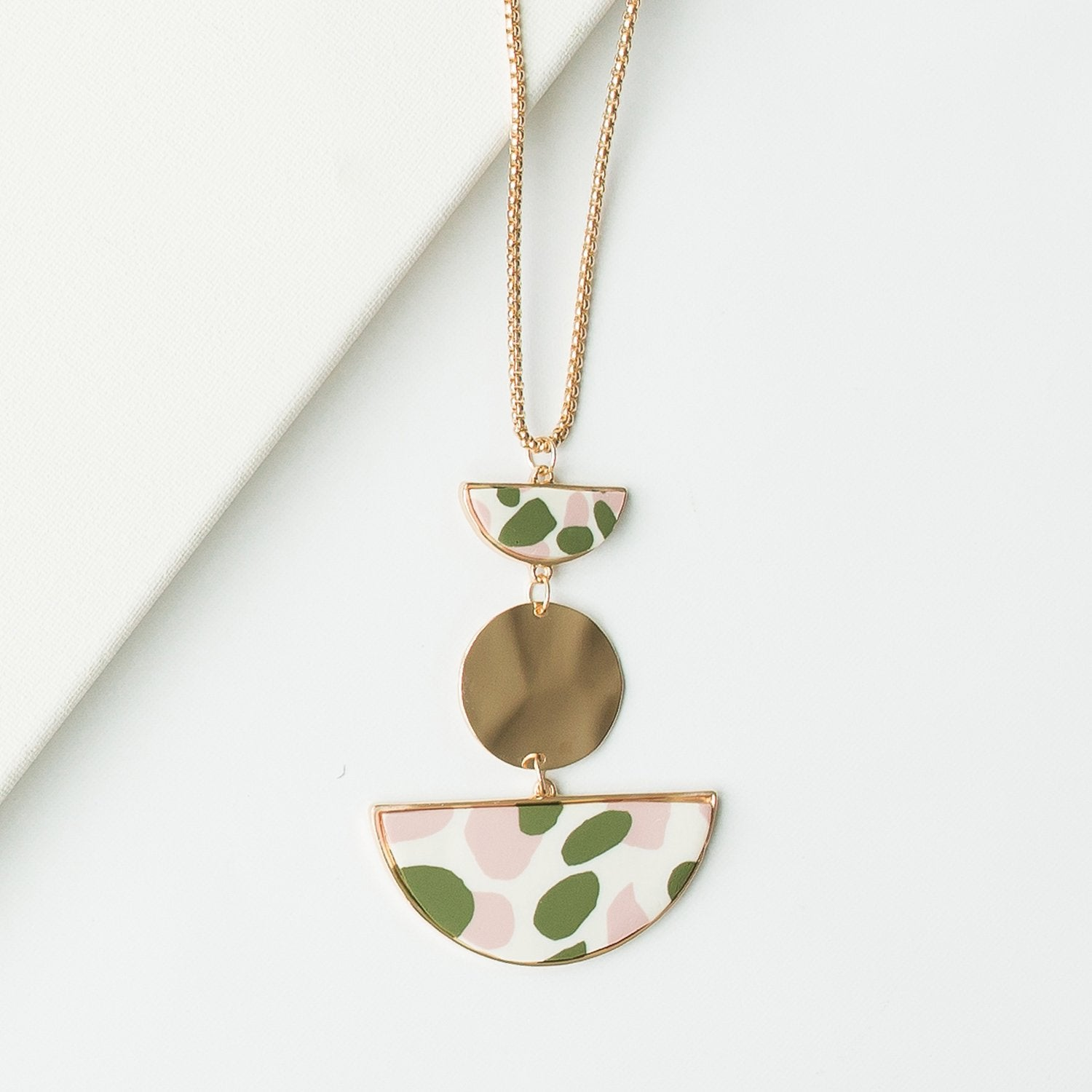Michelle McDowell Shea Necklace - Blush
