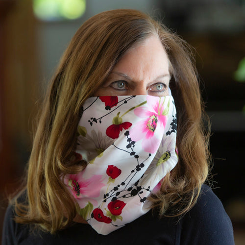 Floral Dawn Scarf/Mask
