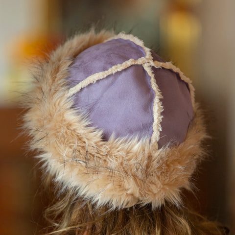 Vanilla Faux Fur Hat