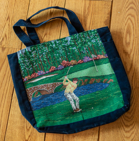 The Nineth Hole Tote