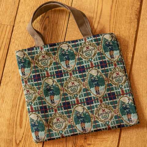 Plaid Tapestry Tote