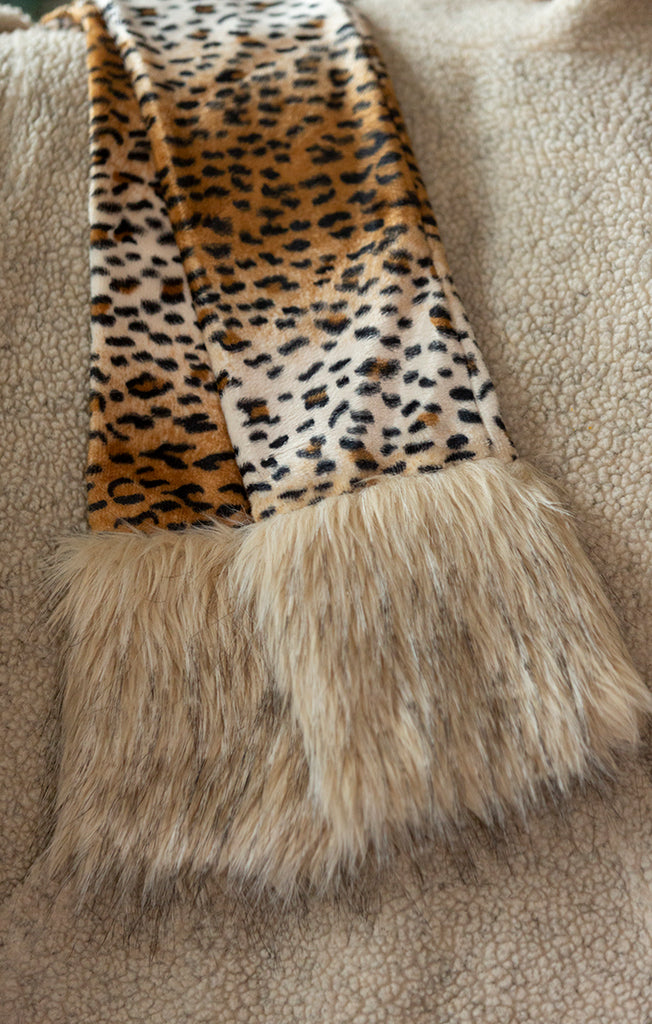 Leopard with Cream fur