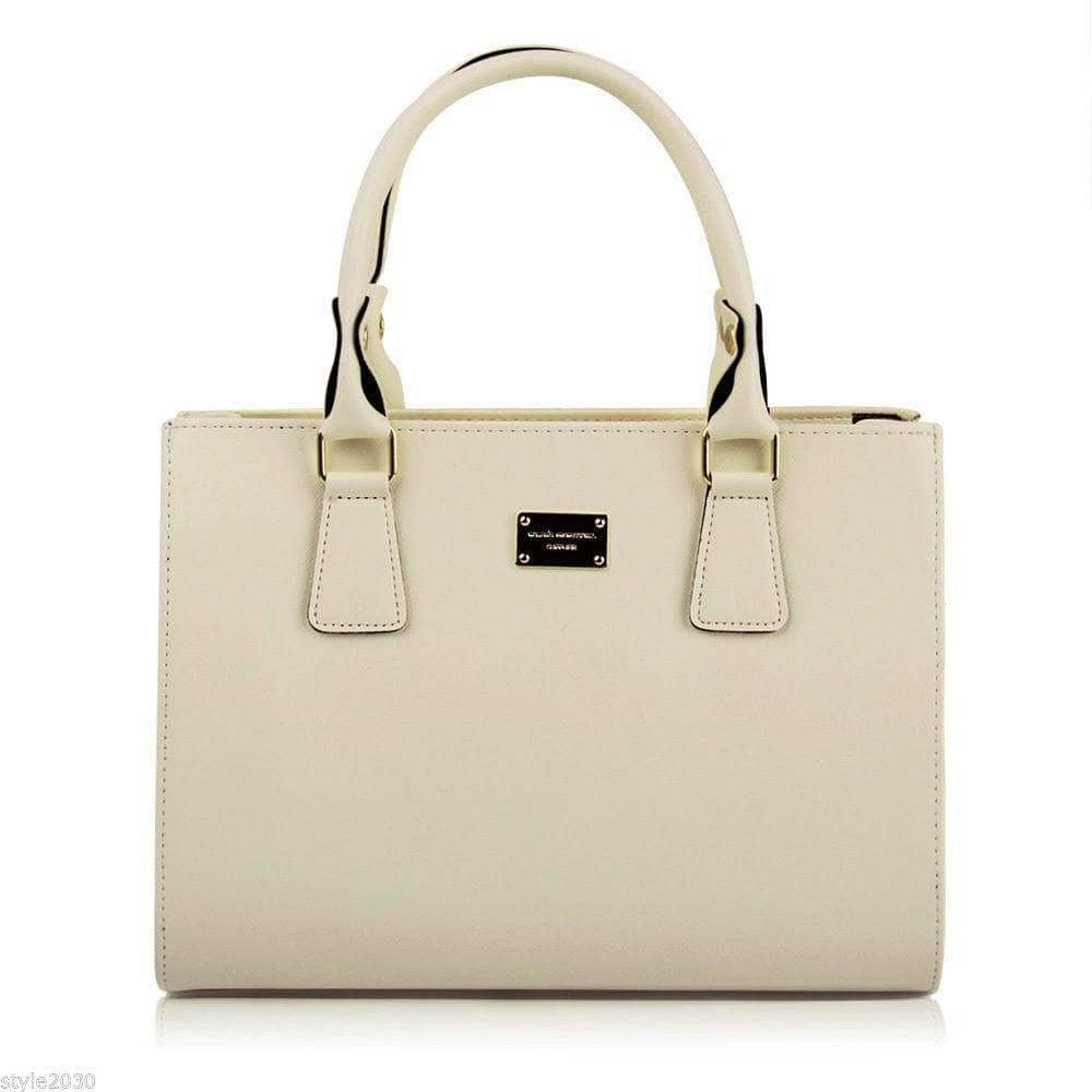 Aint Laurent Accessories Beige Structured Handbag - Multiple Colors