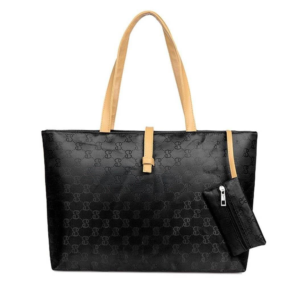 Aint Laurent Accessories Black Logo Print Shoulder Bag - Multiple Colors