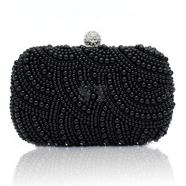 Aint Laurent Accessories Black Pearl Evening Purse - Multiple Colors