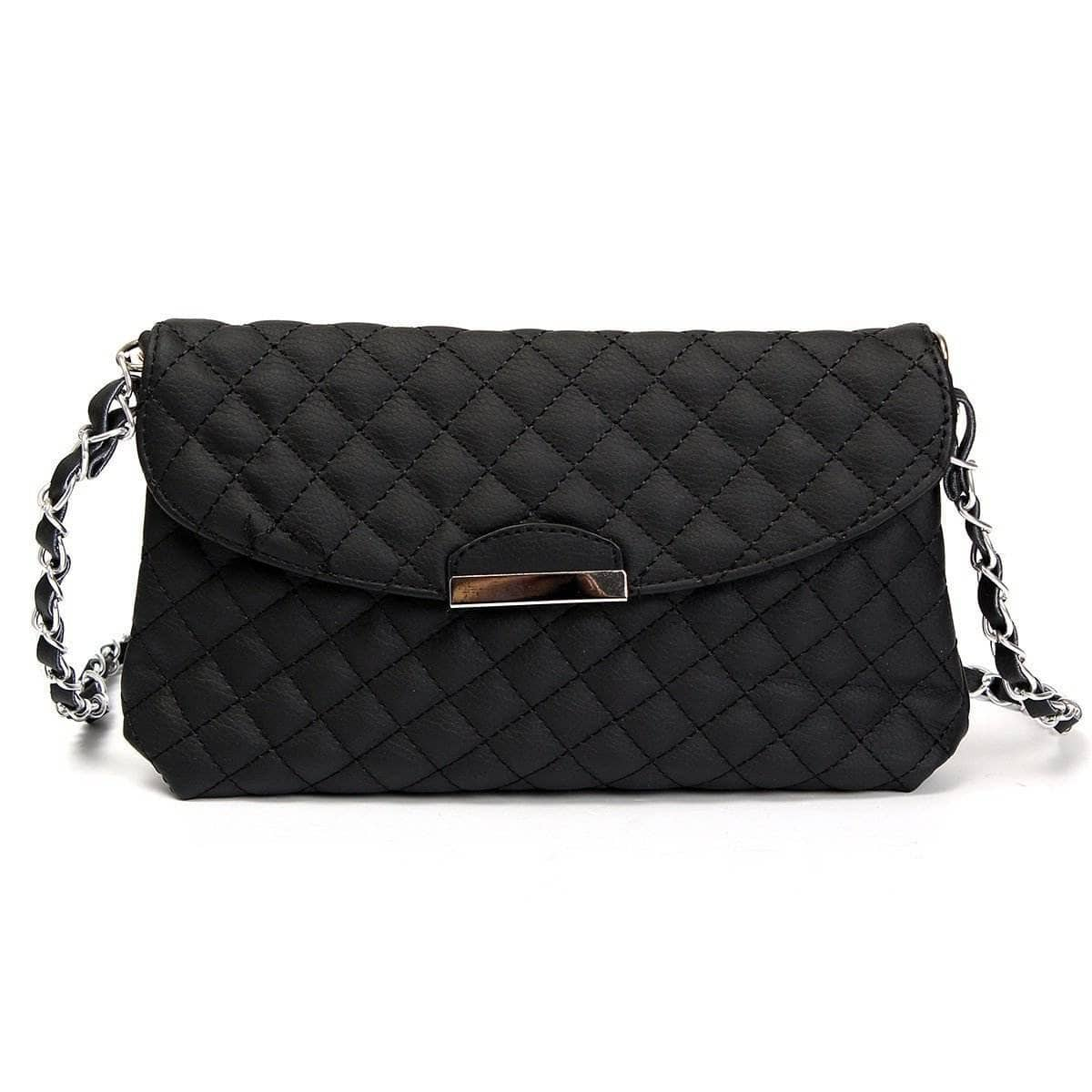 Aint Laurent Accessories Black Purse With Shoulder Strap - Multiple Colors