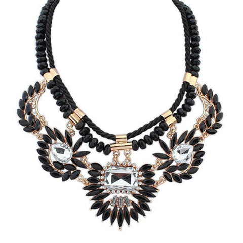 Aint Laurent Accessories Black Tribal Necklace - Multiple Colors