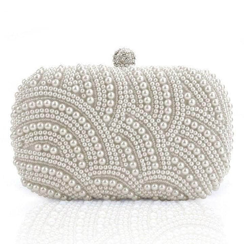 Aint Laurent Accessories SeaShell Pearl Evening Purse - Multiple Colors