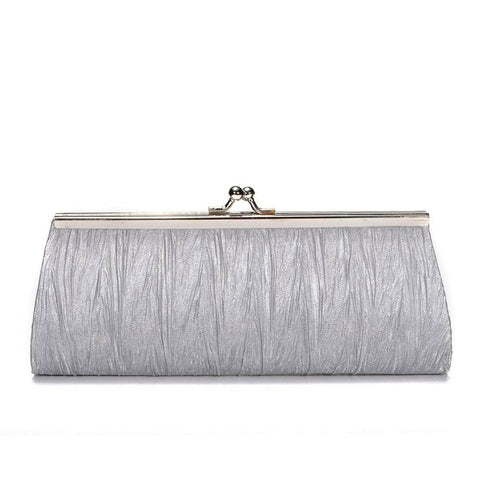 Aint Laurent Accessories Silver Evening Purse