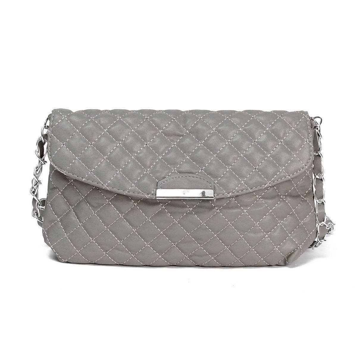 Aint Laurent Accessories Silver Purse With Shoulder Strap - Multiple Colors