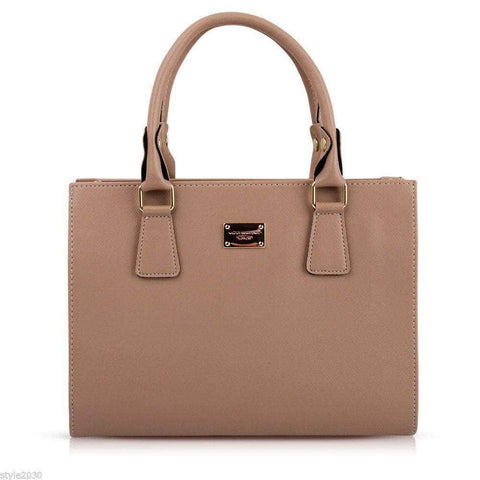 Aint Laurent Accessories Tan Structured Handbag - Multiple Colors