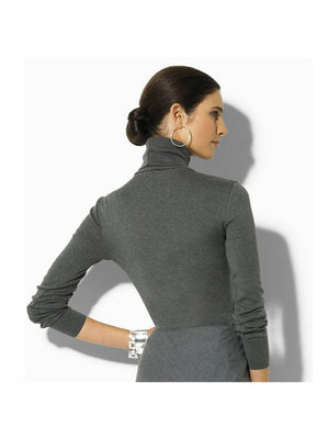 annabelle-demo1 Tops XS / Gray Cashmere Longsleeve Top