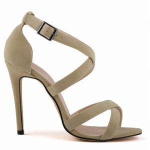 Jimmy Hoo Accessories Beige Criss Cross Sandals - Multiple Colors