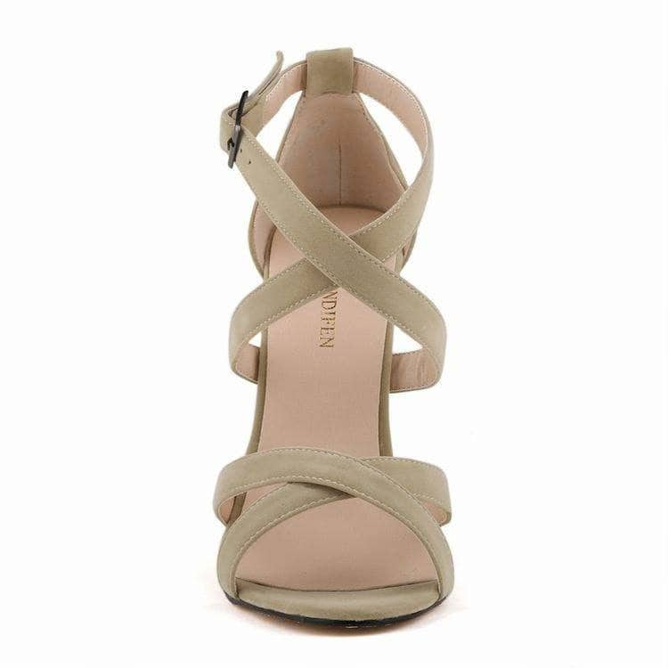 Jimmy Hoo Accessories Criss Cross Sandals - Multiple Colors