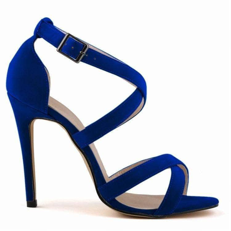 Jimmy Hoo Accessories RoyalBlue Criss Cross Sandals - Multiple Colors