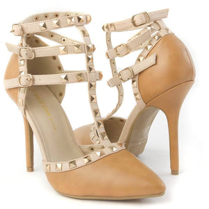 Jimmy Hoo Accessories Tan T-Cross Pumps - Multiple Colors