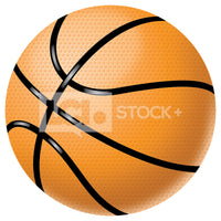 Basket Ball Vector Clipart
