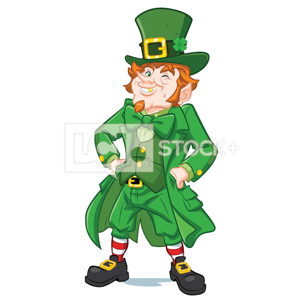 Leprechaun Standing With Hands On Hips