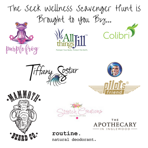 The Seek Wellness Scavenger Hunt