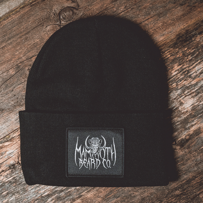 Black Metal Mammoth Beanie