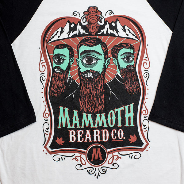 Alien Mammoth Baseball Tee