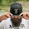 Mammoth Black Fitted Pro Baseball Cap