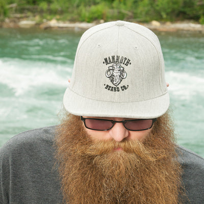 Mammoth Heather Grey Flexfit Hat