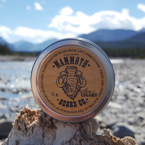 Beard Balm and Conditioner - Sex & Cigars