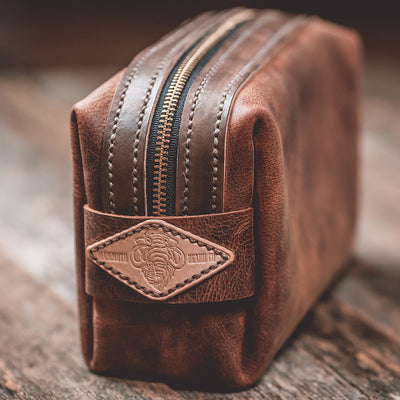 The Drifter Leather Dopp