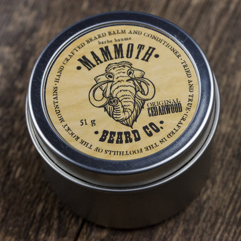 Beard Balm and Conditioner- Original Cedarwood