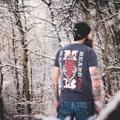 Charcoal Mammoth Beard Co. T-Shirt