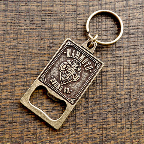 Mammoth Bottle Opener Keychain