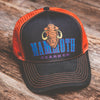 Mammoth Orange & Black Trucker