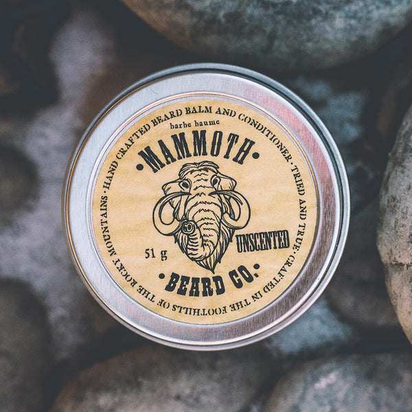 Beard Balm and Conditioner- Unscented
