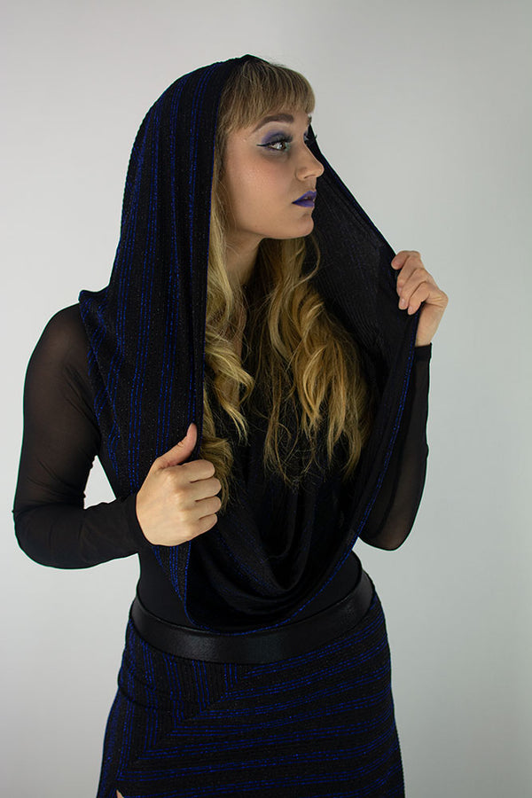 Tinsel Empire  (Infinity Hooded Scarf)