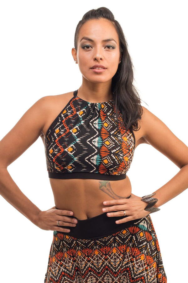 Desert Abstraction Relaxed Halter