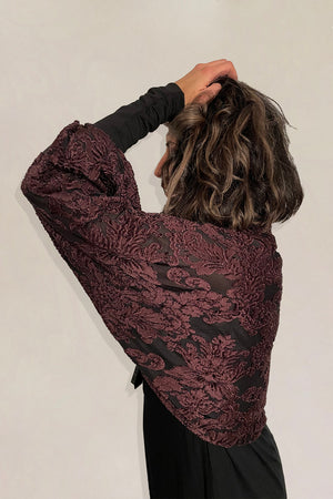 Mulberry Baroque Bolero / Made-To-Order