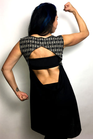 Art Deco Open Back Top - Limited Edition
