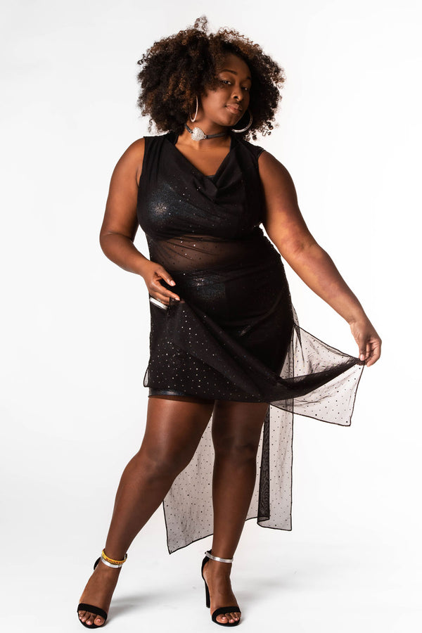 "Midnight Sparkle ""Belebbie"" Tunic / Dress"