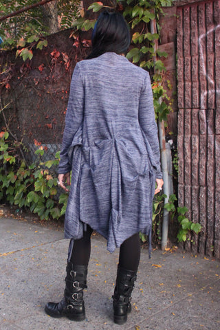 Pintucked Wrap Jacket