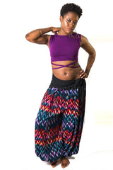 Chevron Colorful Pantaloons