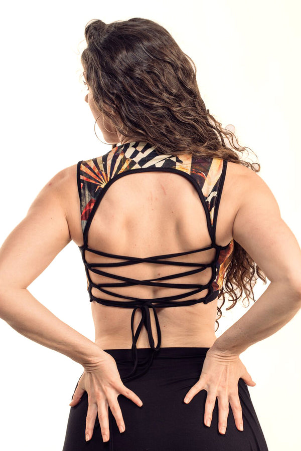 Cirque Corset Back Top