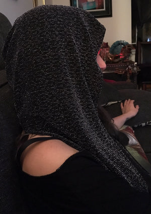 Chain Mail Empire  (Infinity Hooded Scarf)