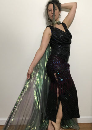 Sparkly Oil Slick Belebbie Dress