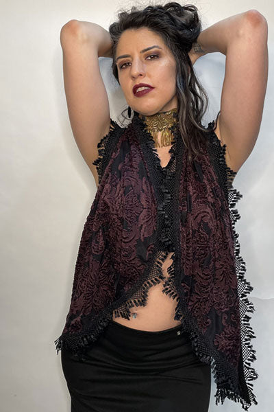 Dark Baroque Scarf / Made-To-Order / Limited Edition