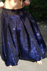 Sparkly Starry Night Flocked Pantaloons