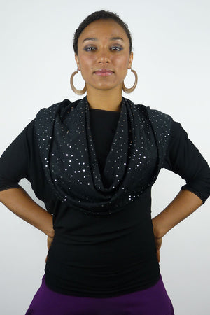 Starry Night Empire (Hooded Infinity Scarf)