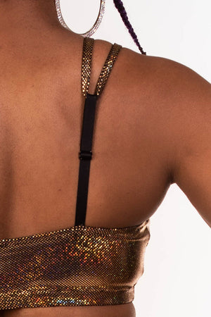 The Ultimate Festival Bandeau - Gold Holo Dot
