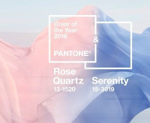 Rose Quartz & Serenity - Colors of the Year 2016
