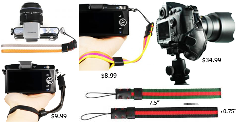Find a Must-Have Wrist Strap Hand Grip for Your Camera